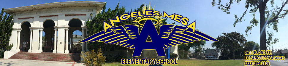 Angeles Mesa Elementary School  Logo